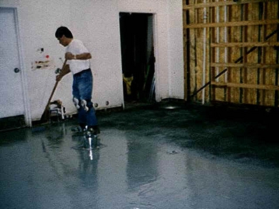 Floor Garage Epoxy Paint Systems Options