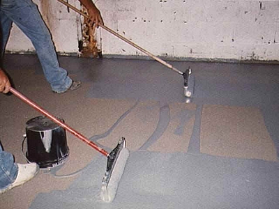 Floor garage epoxy paint systems options for What can i do to my concrete floor